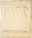 Page 54.  Plan of Township number twelve in the third Range West from the East line of the State according to the survey commenced A.D. 1839.