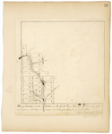 Page 58.  Plan of Township number thirteen in the fourth Range West from the East line of the State as surveyed in A.D. 1839