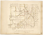 Page 60.  Plan of Township 6 Range 5 west from the east line of the State surveyed in A.D. 1833
