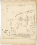 Page 64.  Plan of Township Number 5 in the 10th Range West from the East line of the State of Maine, representing the exterior lines according to the original survey, and the interior lines according to E. Stewart's survey made this present month.