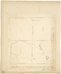 Page 72.  Plan of Township 5 in the 15th Range of townships west from the East line of the State as surveyed into quarters by the subscriber, pursuant to instructions from the Land Agents of Maine and Massachusetts, dated October 20, 1843