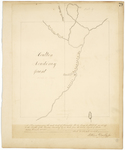 Page 79.  Plan representing the west half of Township 15 Range 4 WELS as set off to the Trustees of the Houlton Academy by an order from the Land Agent of Maine dated November 13, 1848.