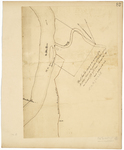 Page 82.  Plan of the State Lots, situated at the south bank of the St. John River at the junction of Fish River, containing 158 acres.