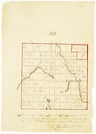 Page 02-2. Plan of township numbered eight in the third Range West from the East Boundary line of the State as Surveyed and lotted in the months of May, June & July A.D. 1840 by Thomas Sawyer