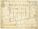 Page 04. A Map of a Part of the Survey in 1825 on the Undivide Land in Maine by Moses Greenleaf