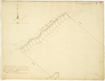 Page 05. This plan represents the river lots in No. 2 River Township East side of Penobscot river as survey'd and alloted by Andrew McMillan in 1824 under the direction of James Irish, Land Agent. by James Irish and Andrew McMillan