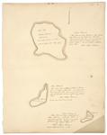 Page 02. Plan of Butter Island, Bean Island, and Oak Island in Hancock County by Rufus Putnam