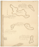 Page 04. Plan of Pond, Pickering, Beech, Little Hog, and Little Spruce Island, 1785 by Rufus Putnam