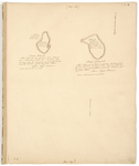 Page 06. Plan of Carne and Sheep Islands in Deer Isle, 1785 by John Peters and Rufus Putnam