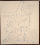 Page 22.  A Plan of the Town of Nobleboro and of the several lots thereon described, made by actual survey agreeable to a resolve of the General Court passed February 25th 1813 and is laid down by Scale of one hundred ploles to an Inch.