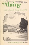 Maine Guide to Camp & Cottage Rentals by Maine Publicity Bureau