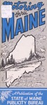 Motoring Thru Maine: 42nd Edition by Maine Publicity Bureau