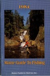 Maine Guide to Fishing by Maine Publicity Bureau