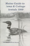 Maine Guide to Camp & Cottage Rentals 1989 by Maine Publicity Bureau