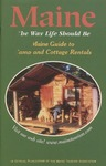 Maine Guide to Camp & Cottage Rentals 2001