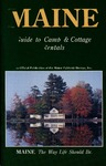 Maine Guide to Camp & Cottage Rentals 1993 by Maine Publicity Bureau