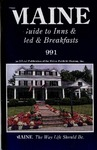 Maine Guide to Inns and Bed & Breakfast Places 1991 by Maine Publicity Bureau