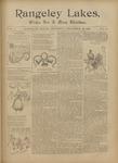 Rangeley Lakes: Vol. 1 Issue 31 - December 26, 1895