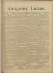 Rangeley Lakes: Vol. 2 Issue 19 - October 01, 1896