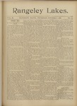 Rangeley Lakes: Vol. 2 Issue 20 - October 08, 1896