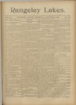 Rangeley Lakes: Vol. 2 Issue 22 - October 22, 1896