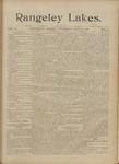 Rangeley Lakes: Vol. 2 Issue 51 - May 13, 1897