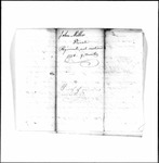 Revolutionary War Pension application- Miller, John (Hampden)