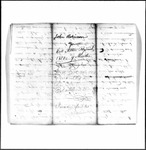 Revolutionary War Pension application- Robinson, John (Mount Dese)