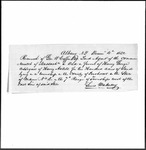 Land Grant Application- Axtell, Henry (Willet, NY) by Henry Axtell