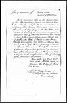 Land Grant Application- Barnes, Samuel (Woodbury, CT) by Samuel Barnes