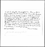 Land Grant Application- Bartlett, Jonathan (Leverett) by Jonathan Bartlett