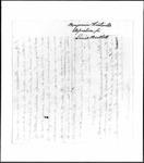 Land Grant Application- Bartlett, William (Shirley, MA) by William Bartlett