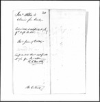 Land Grant Application- Albee, Johnathan (Wiscasset)