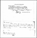 Land Grant Application- Bailey, John (Vassalboro)