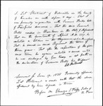 Land Grant Application- Bates, Samuel (Fairfield)