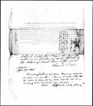Land Grant Application- Bean, Josiah (Mount Vernon)