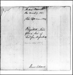 Land Grant Application- Bennett, Andrew (Troy)