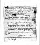 Land Grant Application- Boston, Thomas (Kennebunkport)
