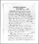 Land Grant Application- Burrill, Humphrey (Milburn)