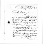 Land Grant Application- Chamberlain, Moses (Norridgewock)