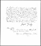 Land Grant Application- Cousins, Samuel (Sedgwick)