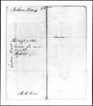 Land Grant Application- Davis, Joshua (Canton)