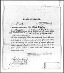 Land Grant Application- Davis, Elijah (Bridgeton)