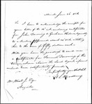 Land Grant Application- Downing, Samuel (Minot)