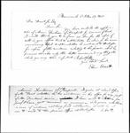 Land Grant Application- Dunham, Ammi (Freeport)