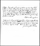 Land Grant Application- Frye, Nathaniel (Fryeburg)