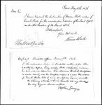 Land Grant Application- Hall, Enoch (Buckfield)