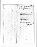 Land Grant Application- Harmon, William (Standish)