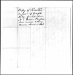 Land Grant Application- Hodge, Joseph (Minot)