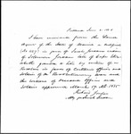 Land Grant Application- Jordan, Soloman (Cape Elizabeth)